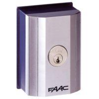 401019001 FAAC T10E ключ-выключатель накладной