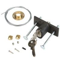 424591001 FAAC Замок дистанционной разблокировки потолочного привода с ключом №1