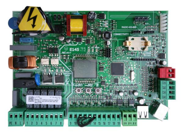 790076 FAAC Плата управления Е145S