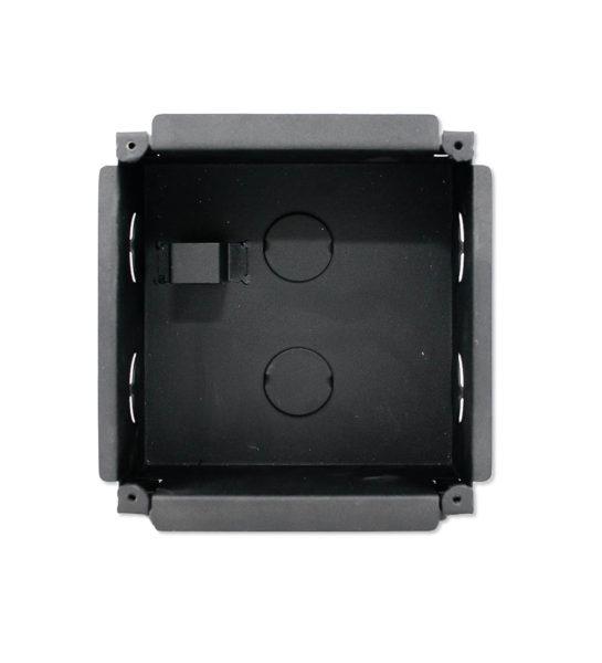 Бокс TI-Box Cub. Металлический бокс для врезного монтажа панели TI-2308M