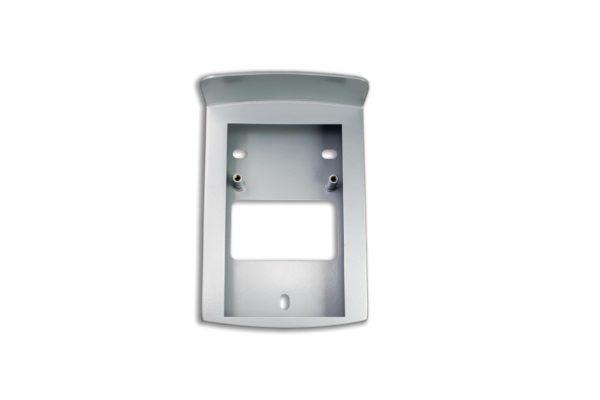 Кожух TI-Vizor 2600WD Silver. Металлический кожух для накладного монтажавызывной панели TI-2600WD Silver.