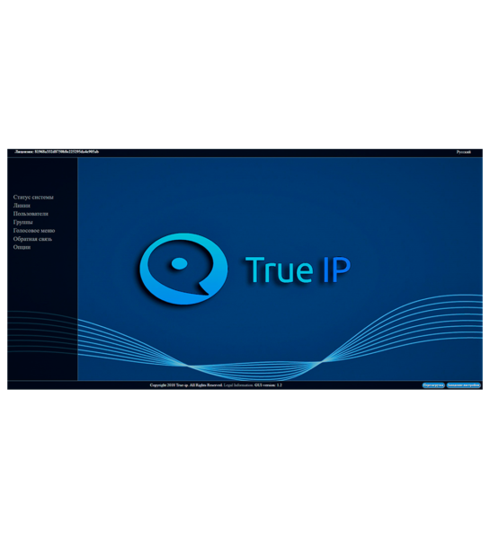 ПО SIP server True IP mini