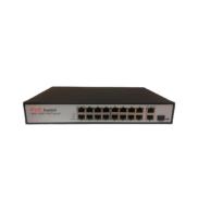POE коммутатор TI-216P TRUE IP