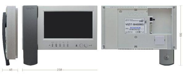 VIZIT-M468МS видеомонитор VIZIT