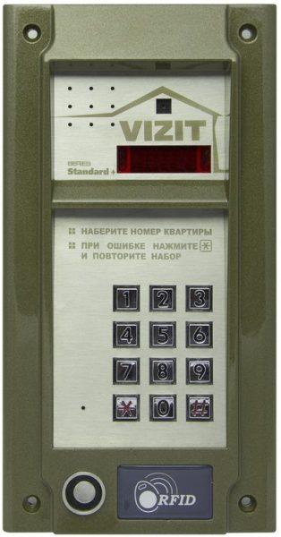 БВД-М202RTCP Блок вызова VIZIT