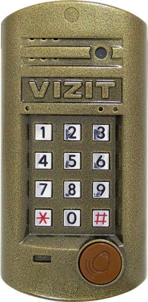 БВД-314FCP Блок вызова VIZIT