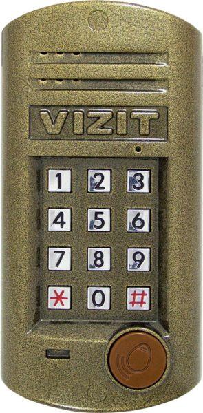 БВД-315RCP Блок вызова VIZIT
