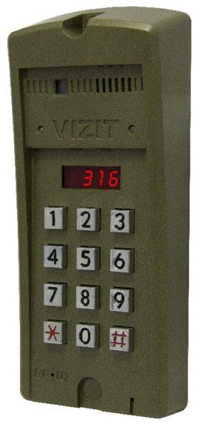 БВД-316FCP Блок вызова VIZIT