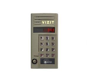 БВД-343RTCPL Блок вызова VIZIT