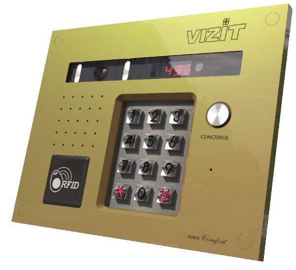 БВД-432FCBE Блок вызова VIZIT
