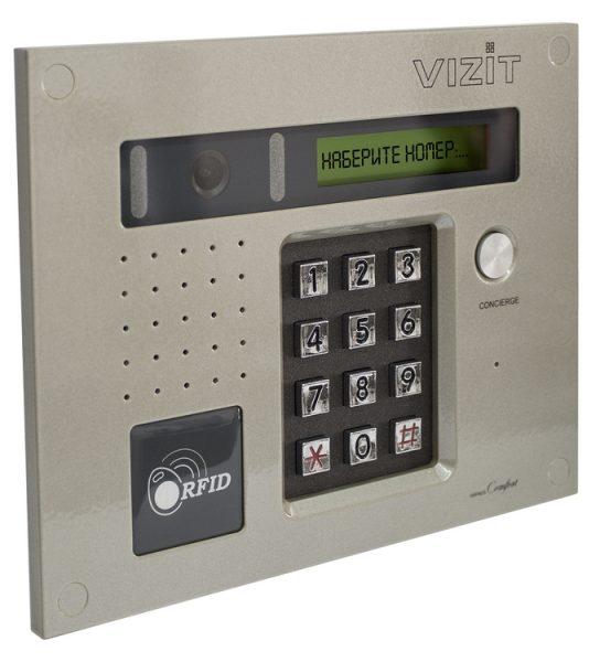 БВД-432RCB Блок вызова VIZIT