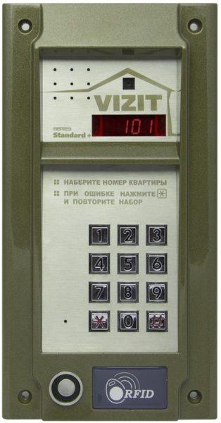БВД-N101RTCP Блок вызова VIZIT