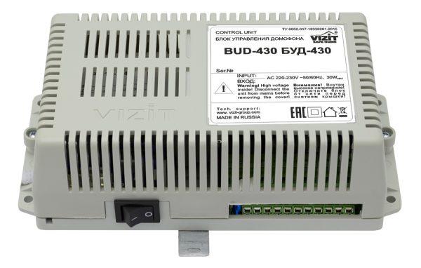 БУД-430M Блок управления домофона VIZIT