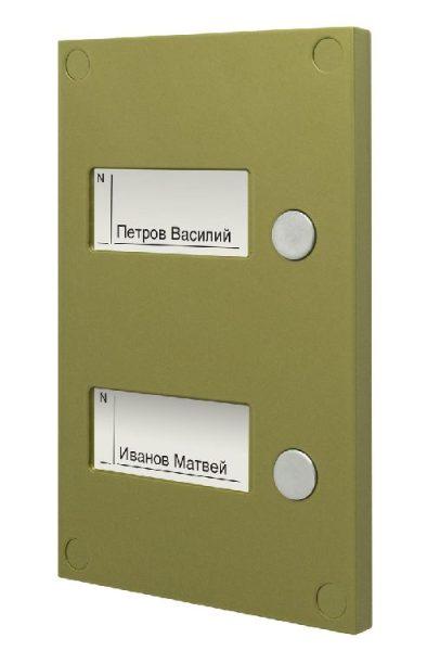 BS-424-2 Кнопочная панель VIZIT