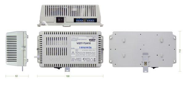 VIZIT-TU418 Блок управления пульта консьержа