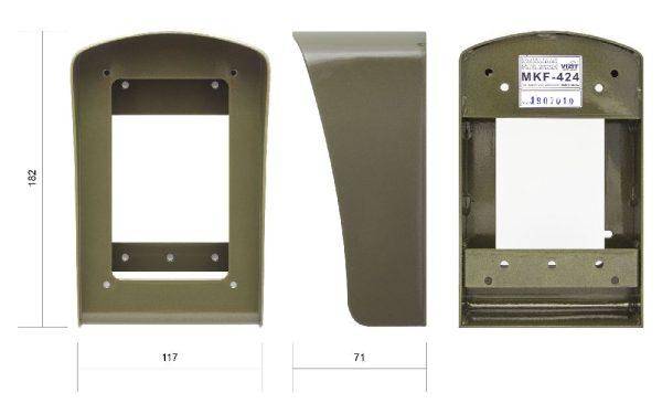 МКF-424 Комплект монтажный VIZIT