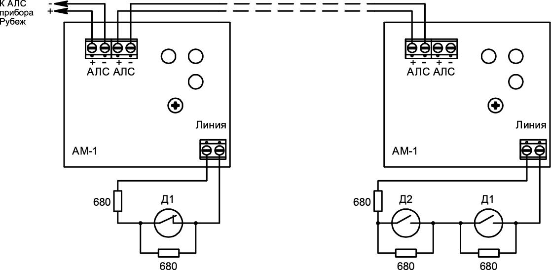 АМ-1 Адресная метка Рубеж