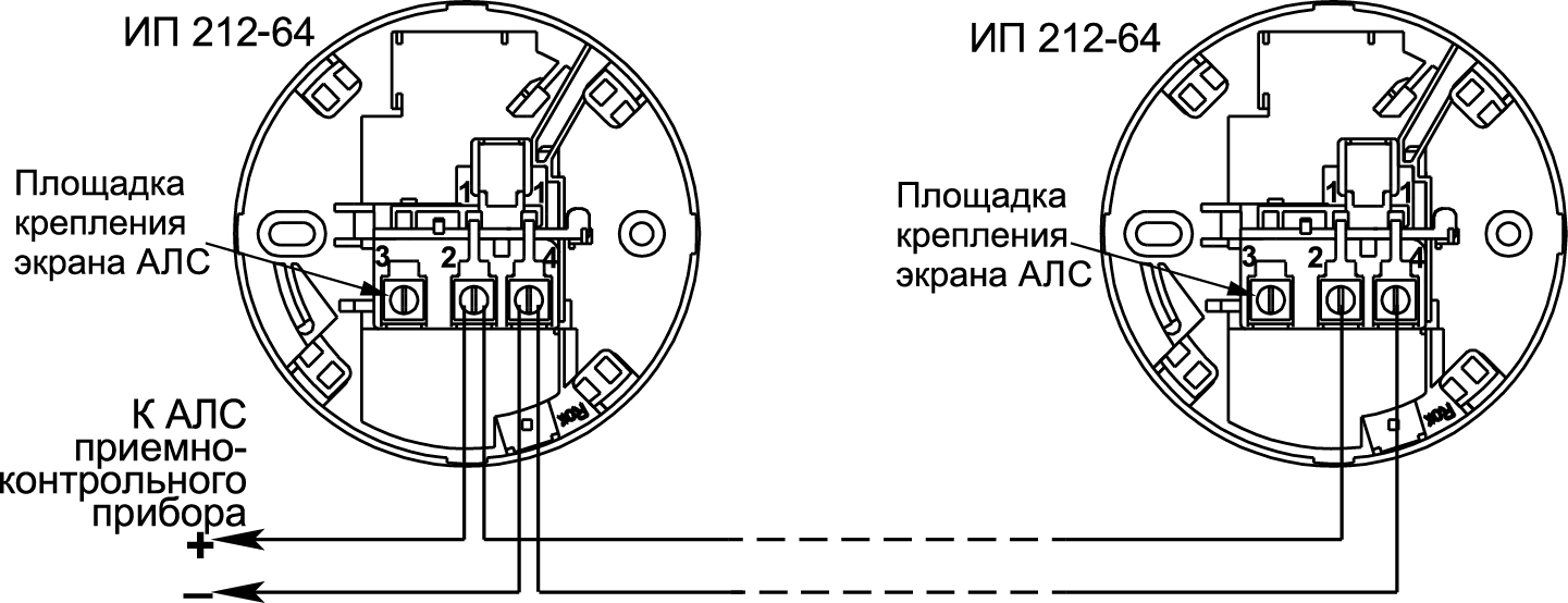 ИП 212-64 ИСП.01 Извещатель пожарный Рубеж