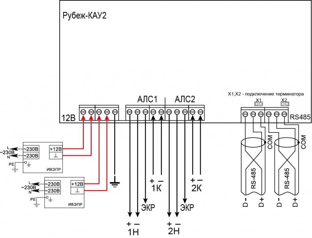 Рубеж-КАУ-1 протокол R3