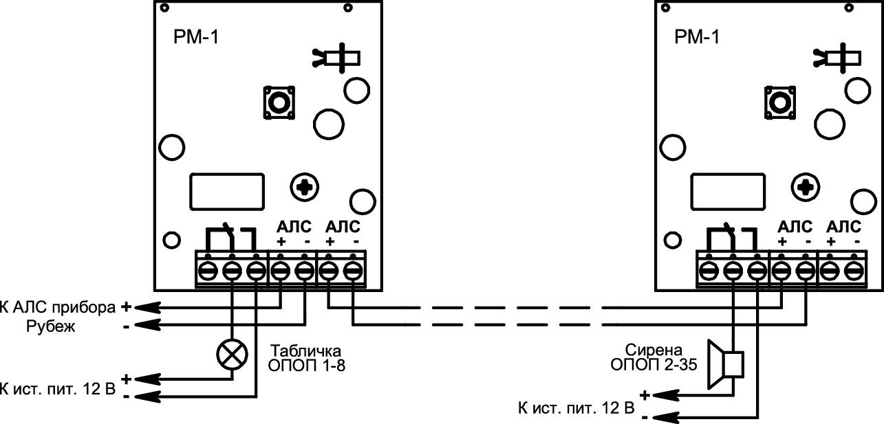 РМ-1 Релейный модуль адресный