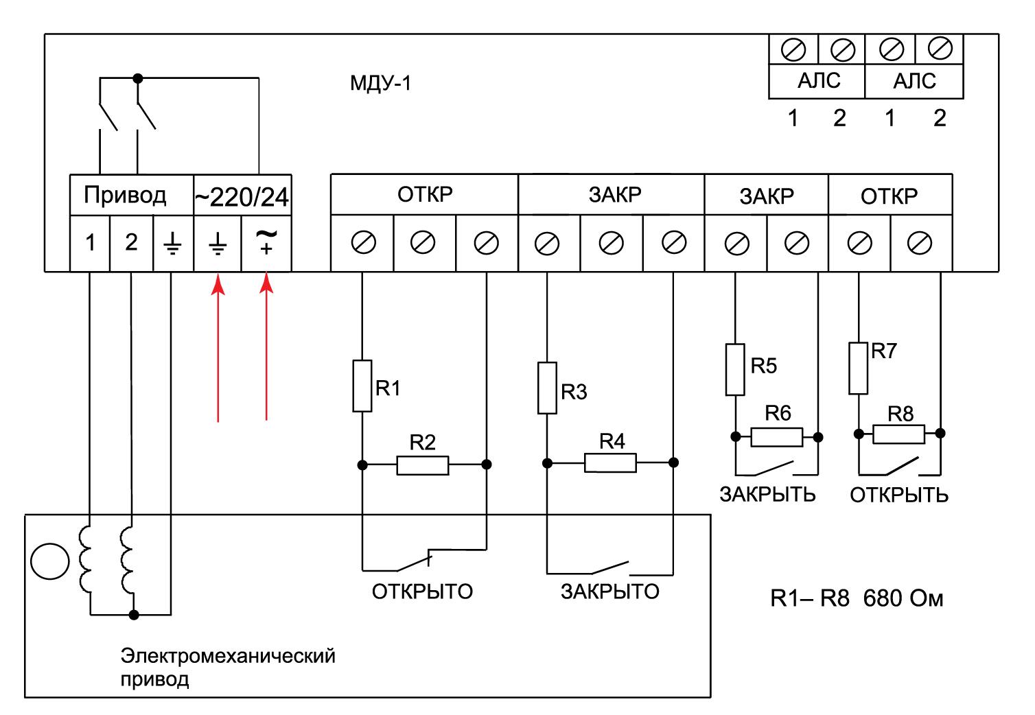 МДУ-1С протокол R3