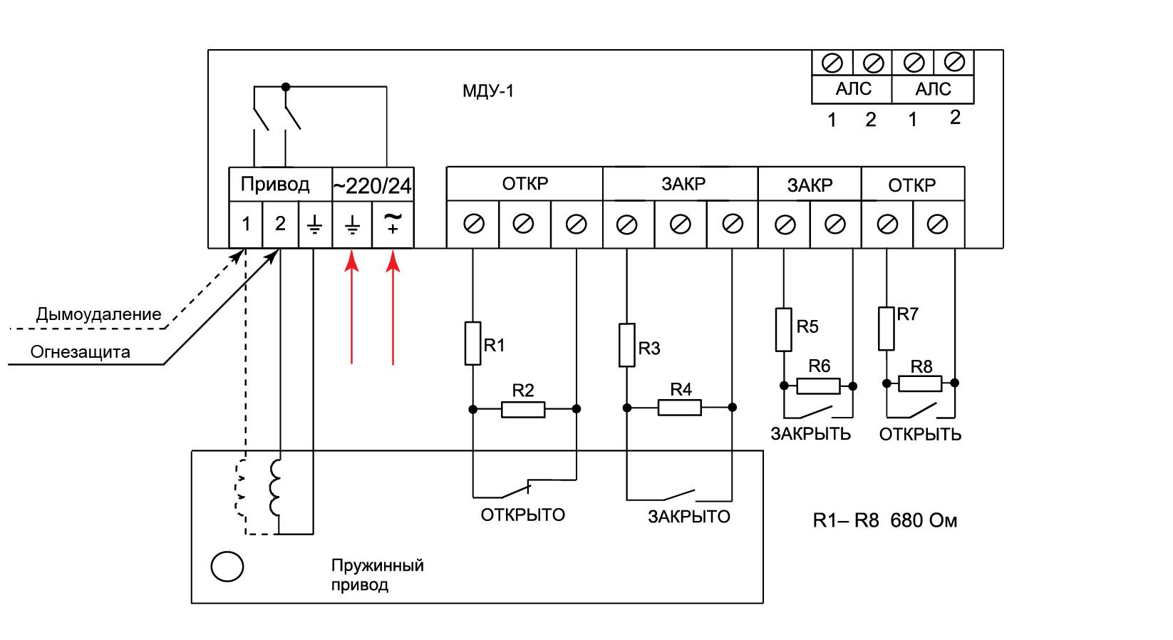 МДУ-1 протокол R3