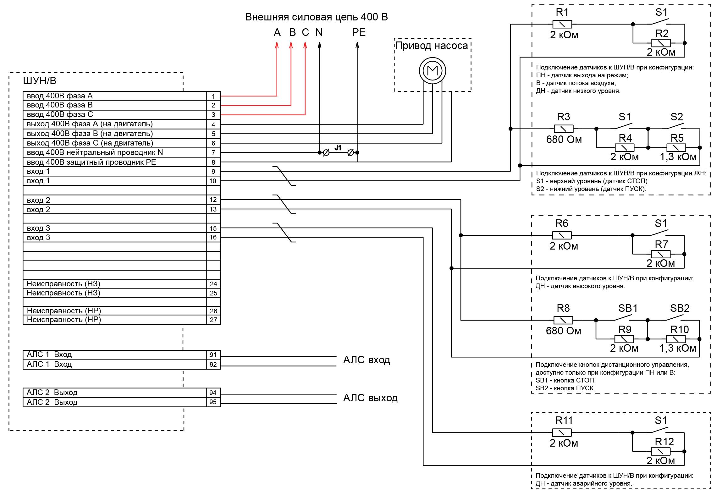 ШУН/В-0.37 (0.37 КВТ) протокол R3