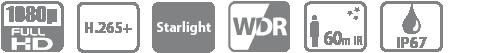 DH-IPC-HFW2231TP-ZS IP видеокамера Dahua