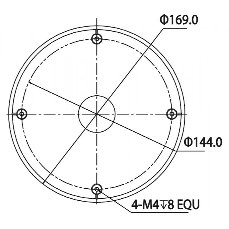 DH-PFA102 Переходной адаптер Dahua