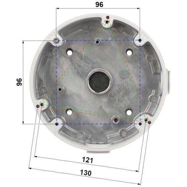 DH-PFA13F Распределительная коробка Dahua