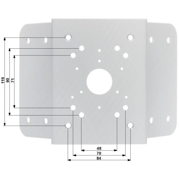 DH-PFA151 Угловой кронштейн Dahua