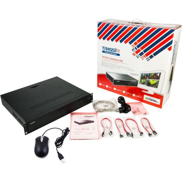 DuoStation AF 32-16P видеорегистратор TRASSIR