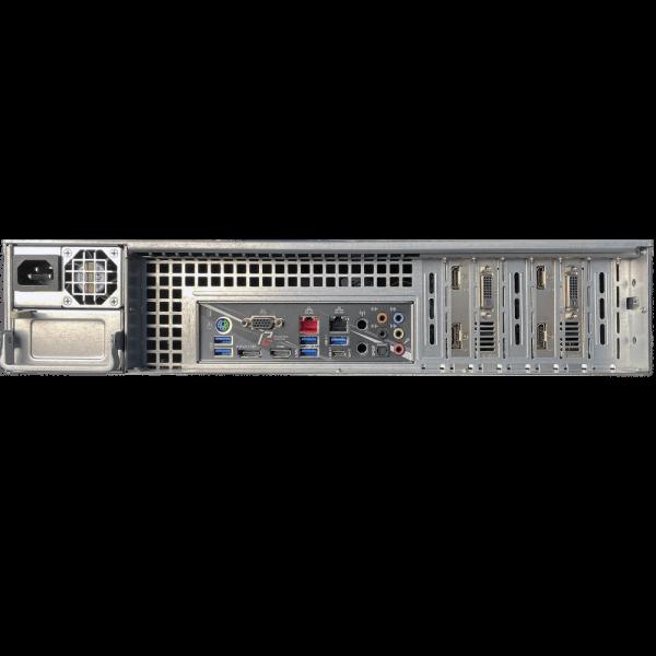 NVR-7800R/128-S видеорегистратор TRASSIR