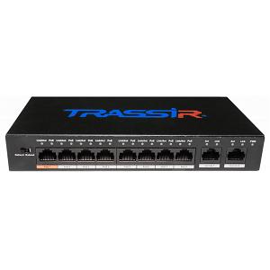 TR-NS1010-96-8POE v3 PoE-коммутатор TRASSIR
