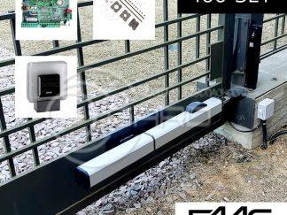 Автоматика привода распашных ворот FAAC – ком...