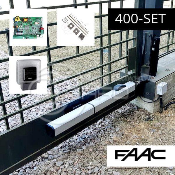 Автоматика привода распашных ворот FAAC 400
