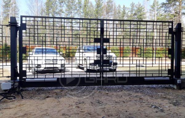 Автоматика привода распашных ворот FAAC – комплект 400-SET