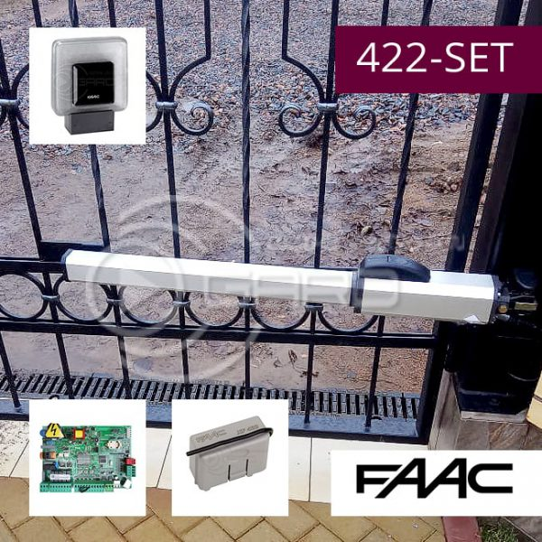Комплект привода распашных ворот FAAC 422