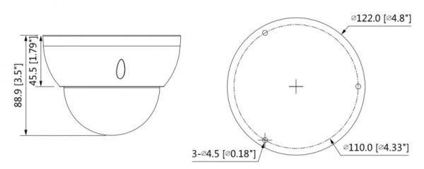 IP видеокамера DAHUA DH-IPC-HDBW5541RP-ASE-0600B