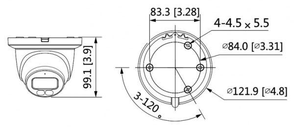 IP видеокамера DAHUA DH-IPC-HDW3249TMP-AS-LED-0360B