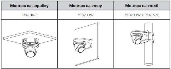IP видеокамера DAHUA DH-IPC-HDW3441TMP-AS-0600B