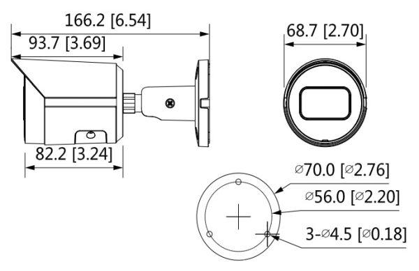IP видеокамера DAHUA DH-IPC-HFW2230SP-S-0280B