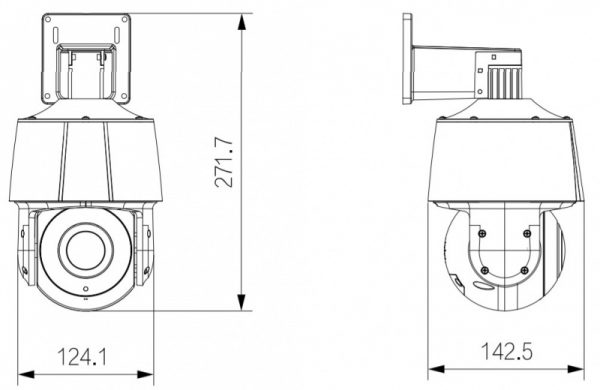 IP видеокамера DAHUA DH-SD3A400-GNP-B-PV