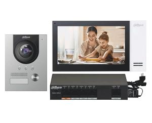 Комплект видеодомофонов DAHUA DHI-KTP01(F)