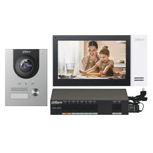 Комплект видеодомофонов DAHUA DHI-KTP01(S)
